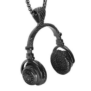 HIP HOP CHAIN HEADPHONES NECKLACE
