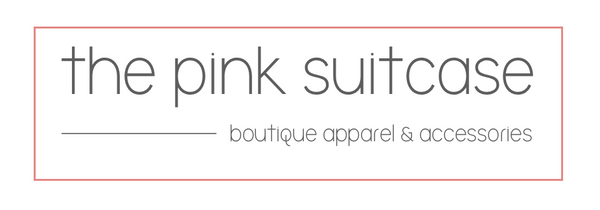 Welcome to The Pink Suitcase Boutique! Our goal is to bring you the latest fashion trends at affordable prices. Flawless Style. Impeccable service. Always within reach.