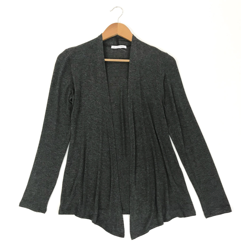 Charcoal Lightweight Cardigan