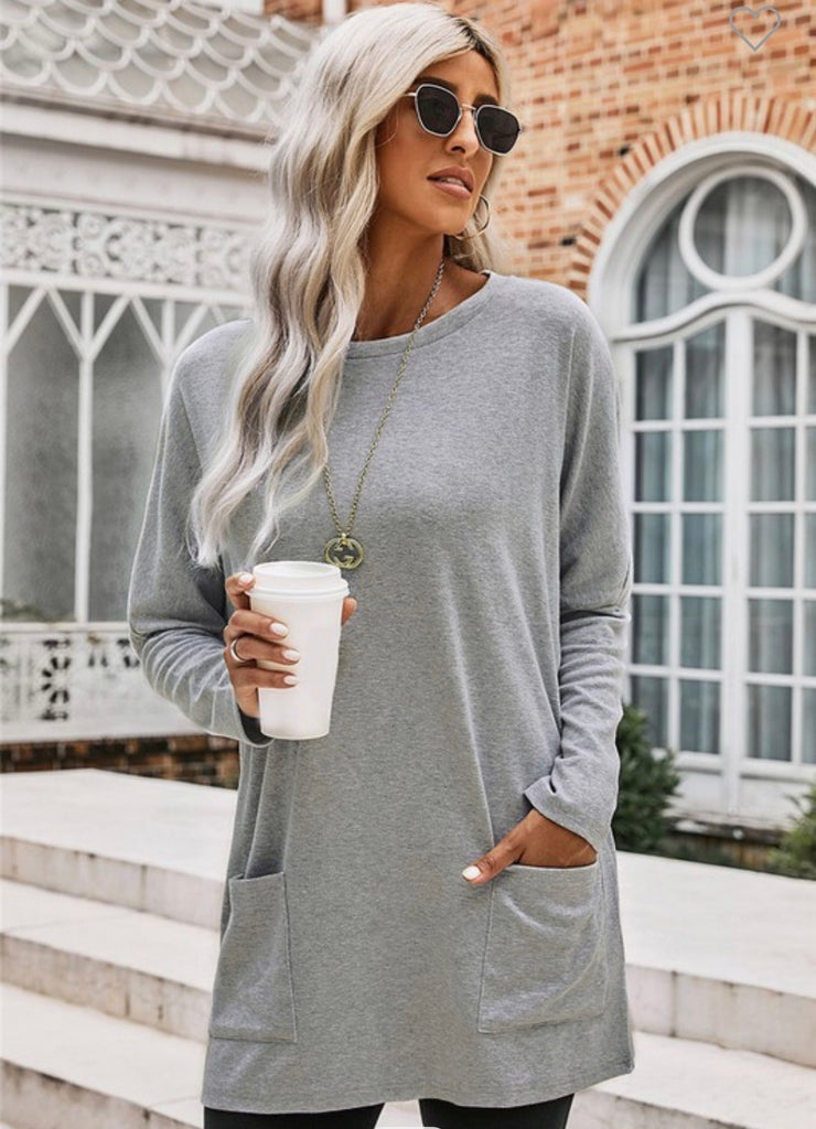 Farren Grey Pocket Tunic