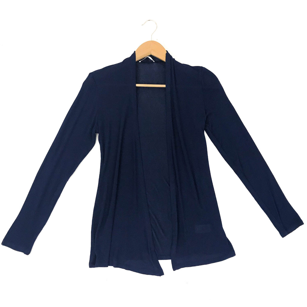 Navy Lightweight Cardigan