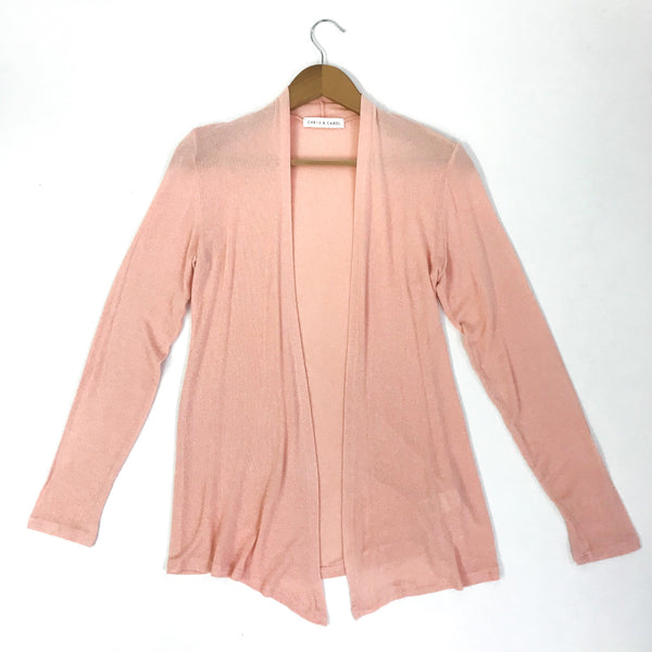 Pink Lightweight Cardigan