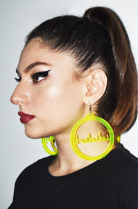 GLOWING HABIBI HOOP EARRINGS