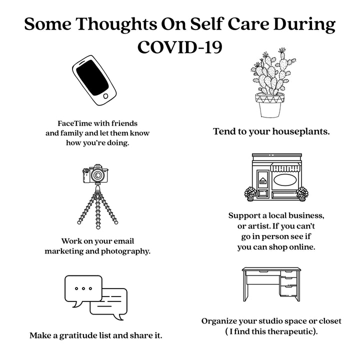STAYING PRODUCTIVE AND SELF-CARE DURING COVID-19