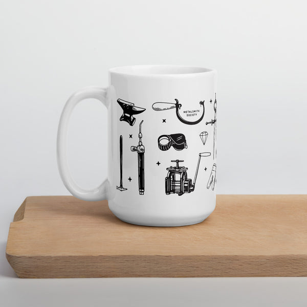 SOCIETY FLASH SHEET MUG