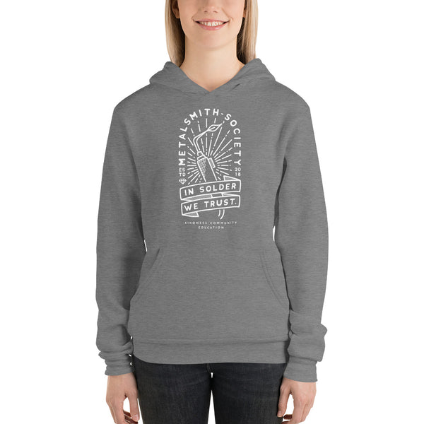 """IN SOLDER WE TRUST"" 2019 UNISEX HOODIE (S-2XL)"