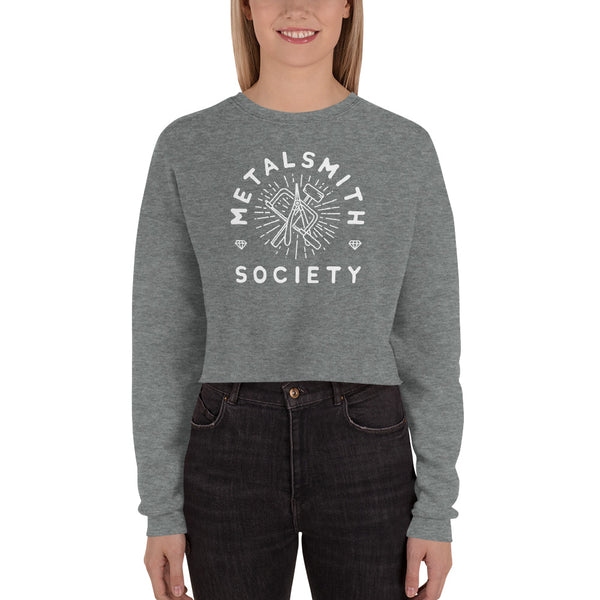 SOCIETY LADYSMITH CROP SWEATSHIRT (S-L)