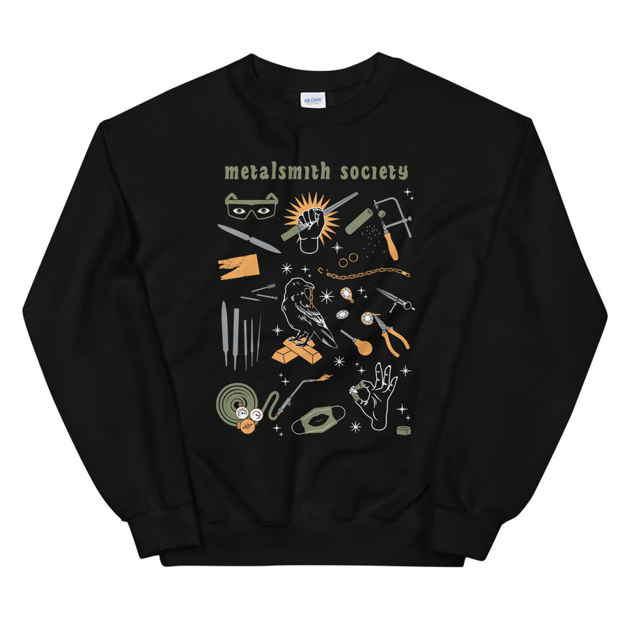 2021 SOCIETY TOOLS UNISEX DARK SWEATSHIRT (S-5XL)