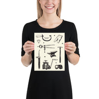 UNFRAMED SOCIETY FLASH SHEET PRINT