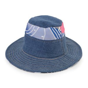 Bucket Hat-Recharging Blue