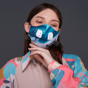 To The Future#3 Facemask With Air Valve