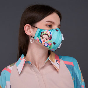 Flower Queen Facemask With Air Valve