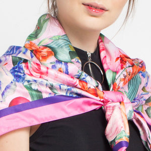 Miami Pink Scarf