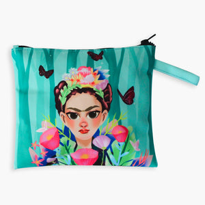 Flower Queen Flat Pouch