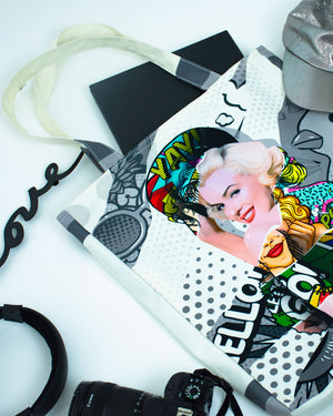 Marilyn Pow Tote Bag