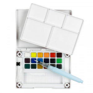 Sakura Koi Watercolor Pocket Field Sketch Box - 18 colors