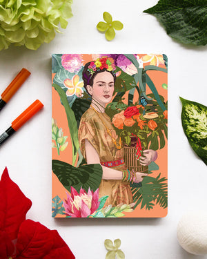 Spring Frida Orange Artbook