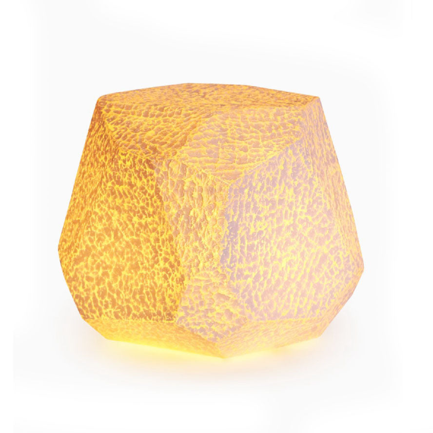 Facet Stool Lamp