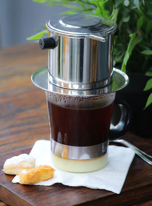 Hot Vietnam Coffee