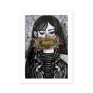 Anxiety Portraits Art Prints 1/50