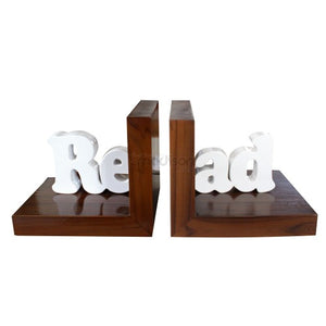 Read Book Holder - White
