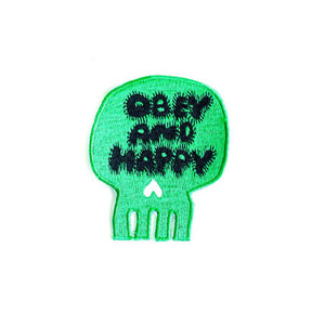 "Emblem ""Obey and Happy"""