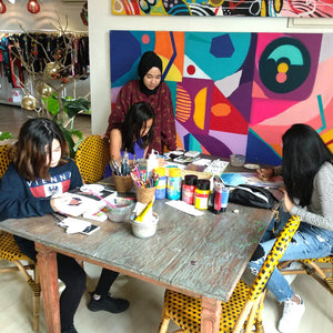 Private Art Class / Level: Introduction / Mentor: Imelda