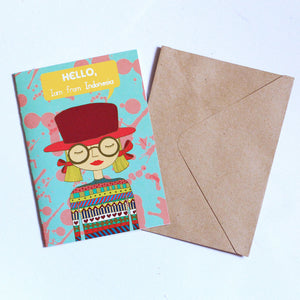 Greeting Card By Sanjung