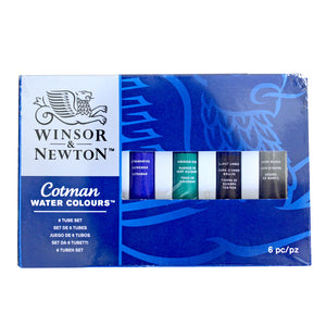 Winsor & Newton Cotman Water Colours 6 Tube Set