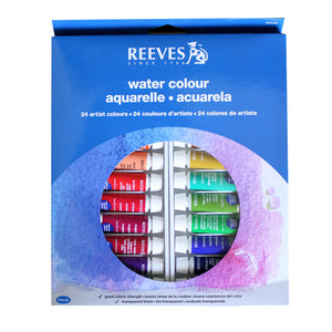 Reeves Watercolor Paint (Set of 24)
