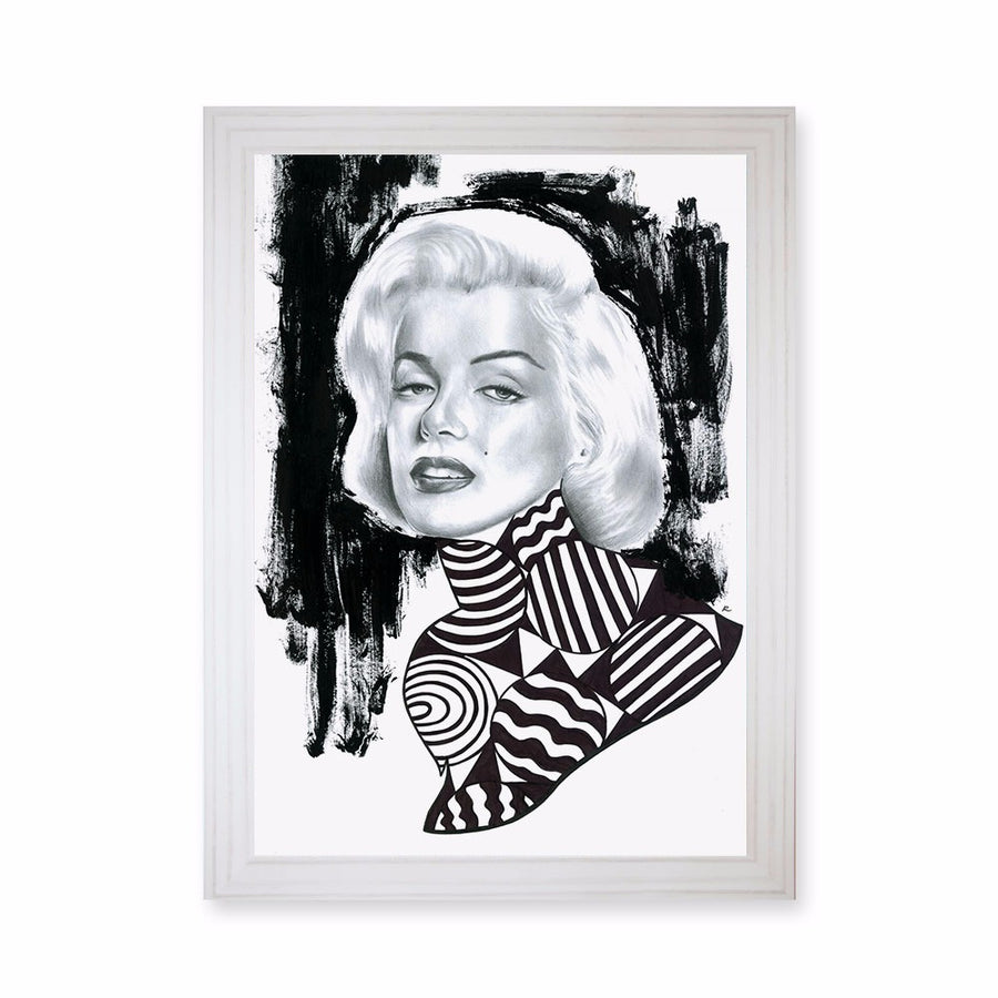 Marilyn Monroe Exclusive Print Art
