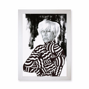 Andy Warhol Exclusive Print Frame Art