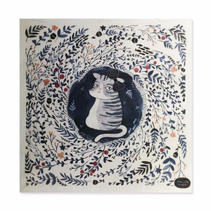 REPRODUCTION PRINT POROL THE CAT
