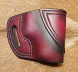 Gary C's Avenger Right Hand Holster for Glock G43, Dark Cherry. XBB-023