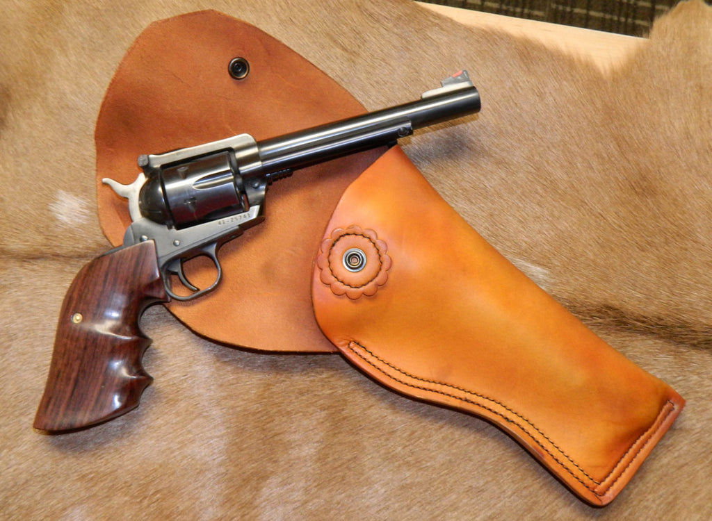 Gary C's Full Flap Right Hand Holster for Ruger Single