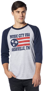 Stars & Stripes Raglan