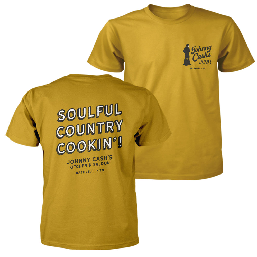 Johnny Cash's Soulful Country Cookin' Unisex Tee