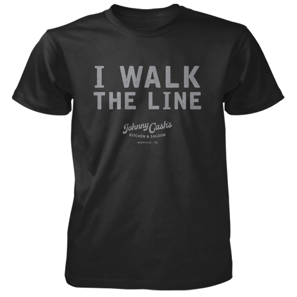 Johnny Cash's I Walk The Line Unisex Tee
