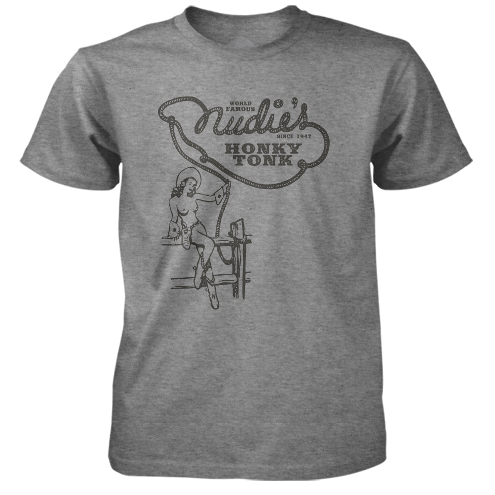 Nudie's Topless Unisex Tee - Gray