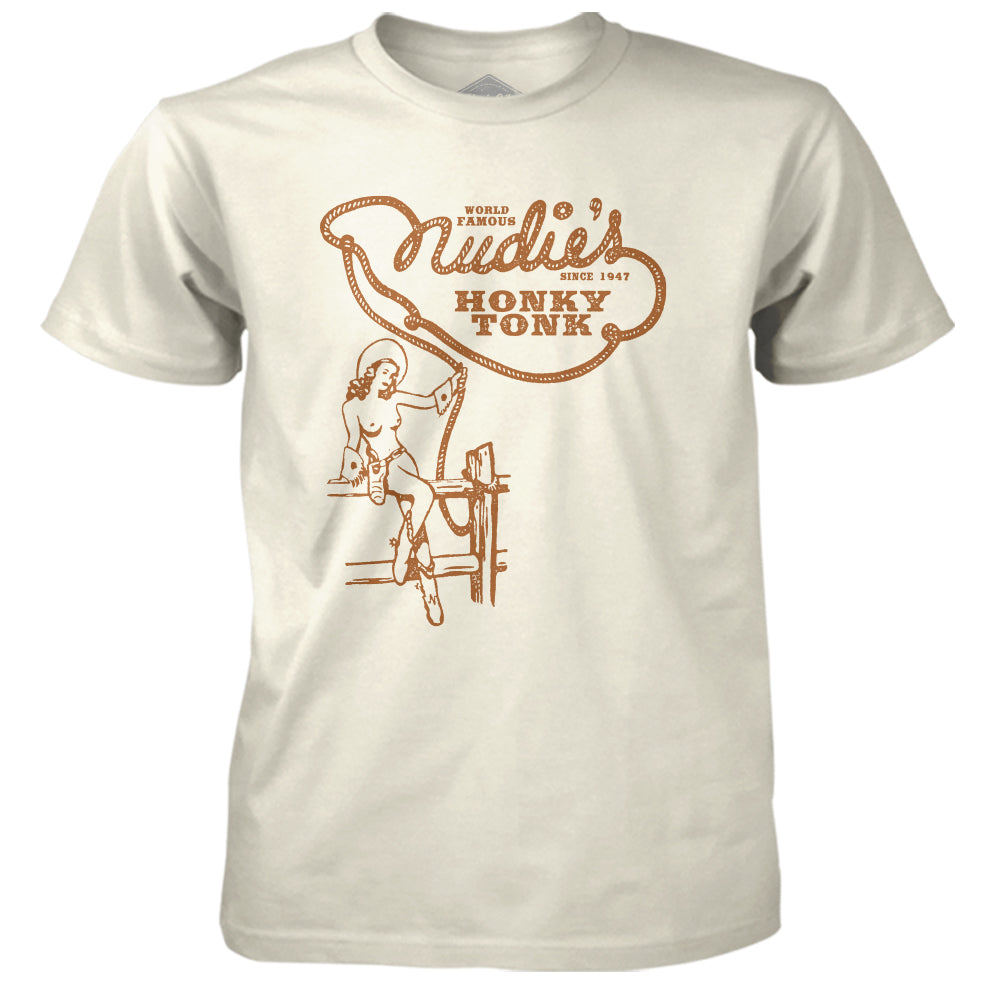 Nudie's Topless Unisex Tee - Cream