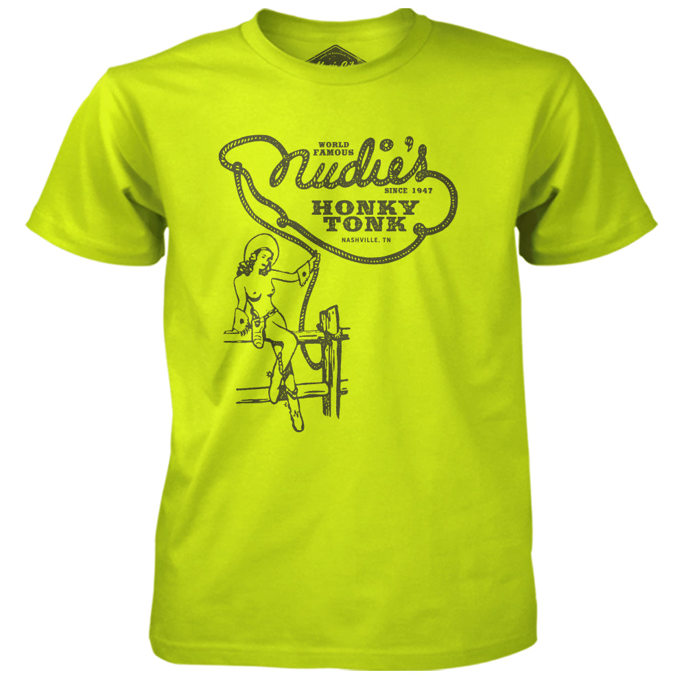Nudie's Topless Unisex Tee - Safety Green