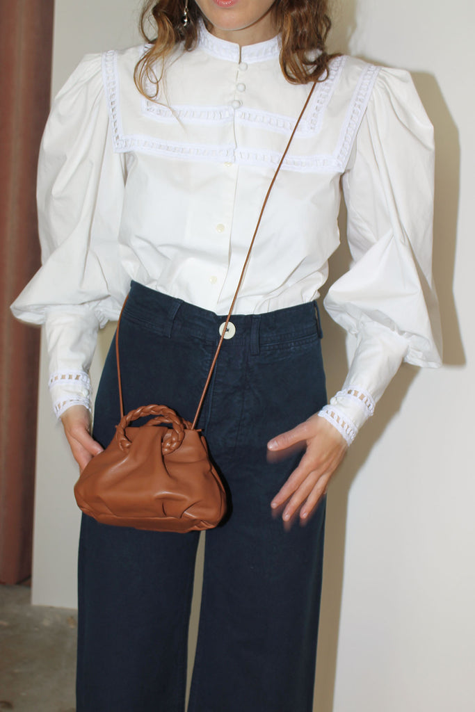 HEREU, Bombon Crossbody, Chestnut