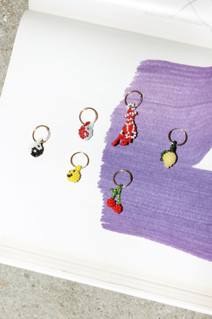 PURA UTZ, Mini Bead Earrings, Several Options