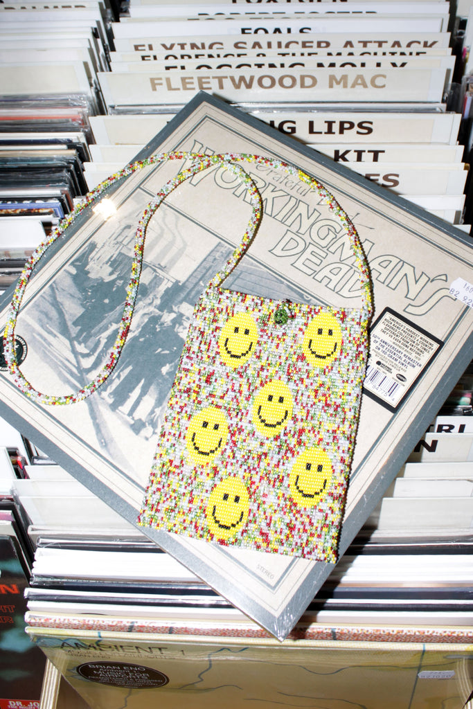 PURA UTZ, Smiley Speckle Phone Bag