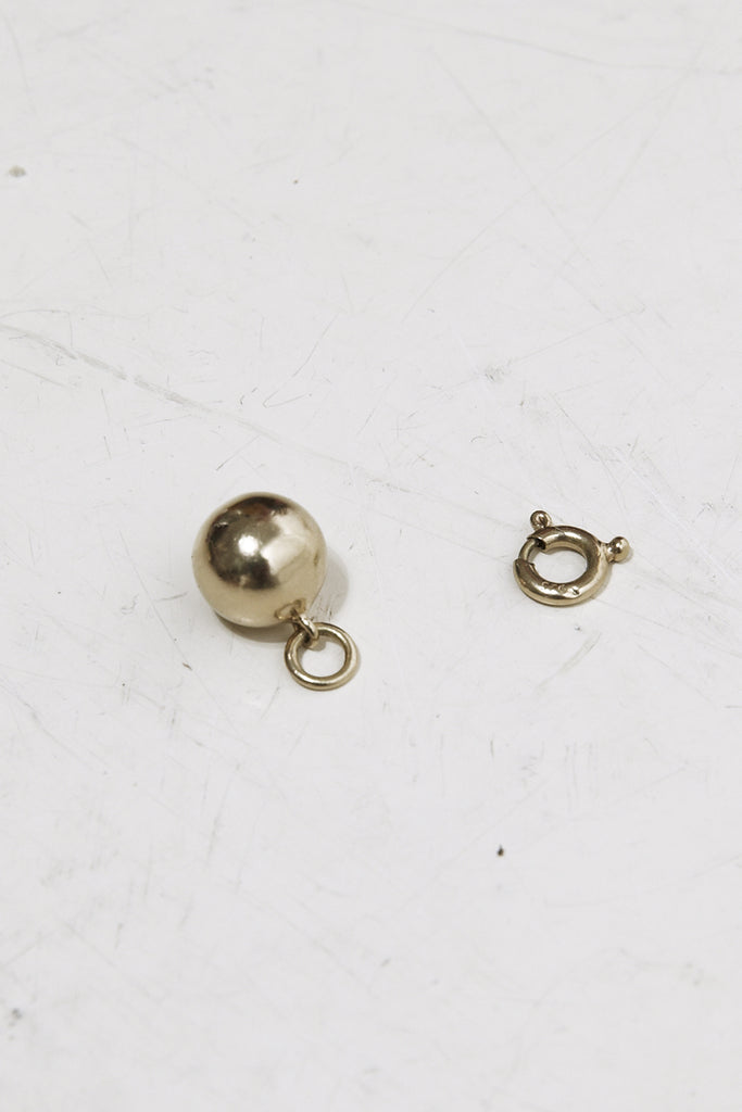 TRINE TUXEN, Bullet Charm, Gold Plated