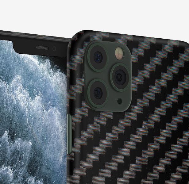 Black Carbon iPhone 11 Pro Max Skin