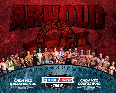 Feedness Meals participa en el Arnold Classic Europe 2018