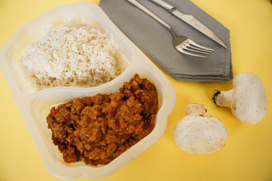 Chili con carne y arroz basmati (LF4) lifestyle Feedness Meals