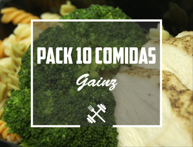 Pack Gainz 10 pack Feedness Meals