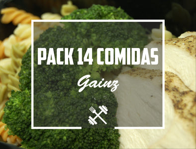 Pack Gainz 14 pack Feedness Meals
